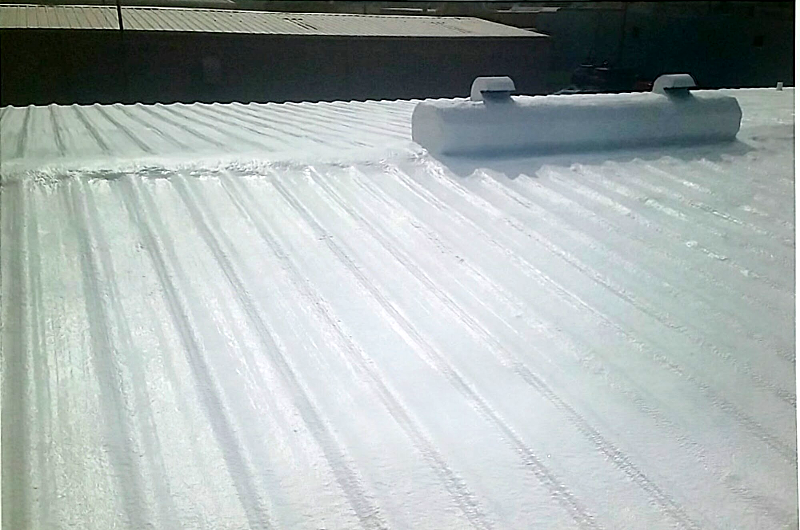 Metal Roof Urethane Restore - After