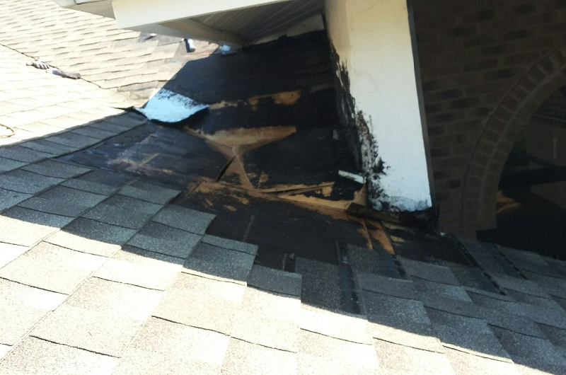 Shingle Repair - During 1