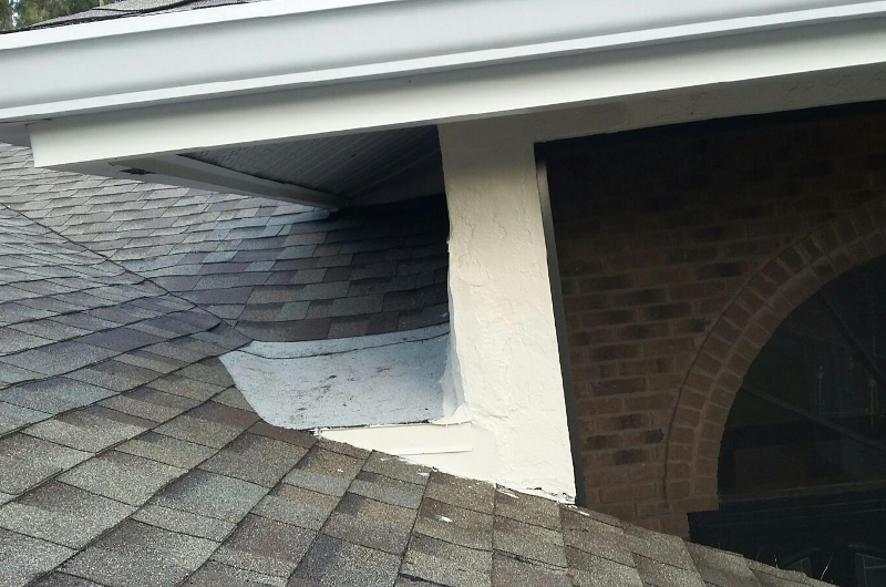 Shingle Repair - During 2