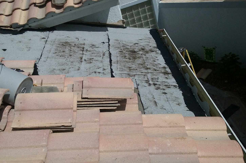 Tile Repair - During 4